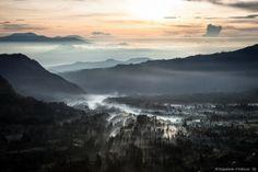 Levé de soleil sur Cemoro Lawang