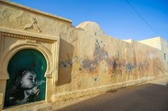 Yazan Halawani (Lebanon) #streetart #erriadh #djerba #tunisia #acrylic