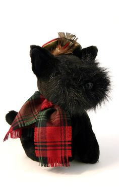 James, shown here with Kerr Red Modern tartan accessories.