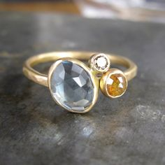 The Chloe Ring by Christine Mighion Jewelry. I like this because the colors compliment each other and it's simple.