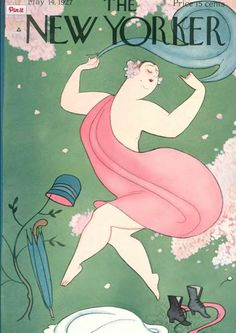 Rea Irvin : Cover art for The New Yorker 117 - 14 May 1927
