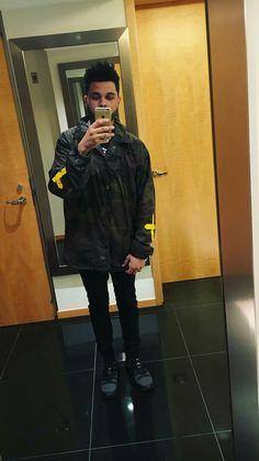 So cute taking selfie/ reading in Netherlands. The Weeknd. :)