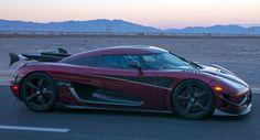 Koenigseggg Agera RS Clocks A Potentially Record-Breaking 278 MPH
