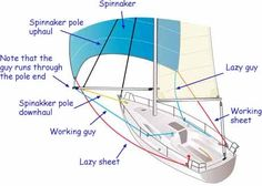 Spinnaker guys and sheets - SailNet Community