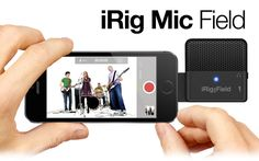iRig Mic Field is your ultra compact audio/video stereo recording microphone for iPhone, iPad, iPod touch. Office Gadgets, Tech Gadgets, Cool Gadgets, Sound Samples, Ipad, Tecno, Iphone, Music Lovers, Ipod Touch