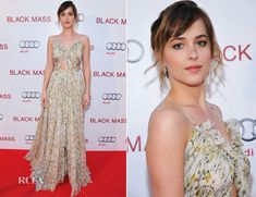 Dakota Johnson In Alexander McQueen – 'Black Mass' Toronto Film Festival Premiere