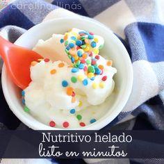 Delicioso y nutritivo HELADO listo en minutos | #Artividades