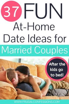 37 at home date night ideas for married couples (Non-TV activities). Dripping with romantic date ideas for married couples you've just gotta try! Couples Things To Do, Romantic Things To Do, Things To Do At Home, Romantic Dates, Couple Things, Romantic Ideas, Fun Things, Marriage Advice, Relationship Advice