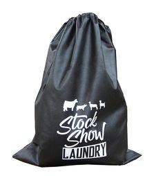 55adb2034242 Stock Show Laundry Bag - Stock Show Sweethearts