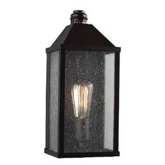 """Check out the Feiss OL18000ORB-LA Lumiere 15"""" 1 Light LED Outdoor Wall Sconce in Oil Rubbed Bronze priced at $257.00 at Homeclick.com."""