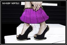 The Official Rockin' Reptile Shoes , Atelier STRUT and Strut Petits Bijoux Website Home page New Bag, The Struts, Shoe Brands, Reptiles, Red Carpet, Collections, Boutique, Rock, Sneakers