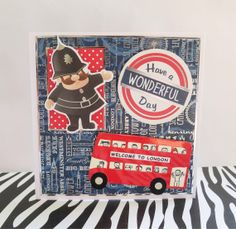 The 109 best birthday cards images on pinterest anniversary cards london red bus celebration greeting card happy birthday congratulations british uk m4hsunfo