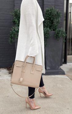 Cozy cardigan under  100 that can transitions into Spring. Ysl HandbagsNude  ... 0636af6ac1786