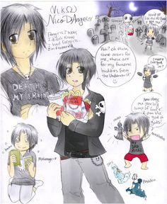 Nico di Angelo by SnowLicht on Deviantart! LOL this is awesome!
