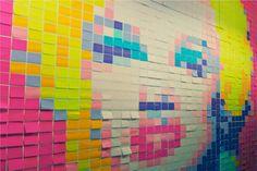 Google Afbeeldingen resultaat voor http://www.blogcdn.com/www.shelterpop.com/media/2010/06/post-it-notes-marilyn-monroe-mural1.jpg