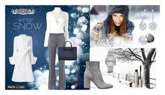 """Blue winter"" by majalina123 on Polyvore featuring Mode, Courrèges, Barbara Bui, Goen.J, Gianvito Rossi, Mansur Gavriel, Dolce&Gabbana, Komono, BERRICLE und Ilia"