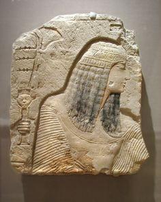 Relief of a Nobleman; Painted limestone,   New Kingdom, XIX Dynasty or XX Dynasty, ca. 1352-1336 BC.