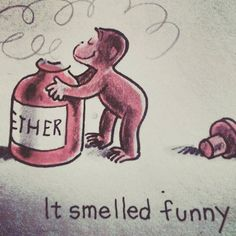 #parlorstreet #sleep #ether #curiousgeorge #childrensbook #manintheyellowhat #monkey #gonzo #fearandloathing #forkids