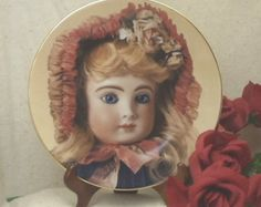 Check out Vintage 1983 The Doll Collection,'H's Halo',French Dolls II,Mildred Seeley Doll Plates, Original Box, #VB7068 on ckdesignsforyou