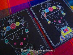 Frida Kahlo | Explore rebeca maltos photos on Flickr. rebeca… | Flickr - Photo Sharing! Frida Kahlo Diego Rivera, Frida And Diego, Painting For Kids, Art For Kids, Childrens Workshop, Arte Elemental, Frida Art, Bee Art, School Art Projects