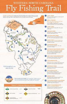 North Carolina fly fishing locations