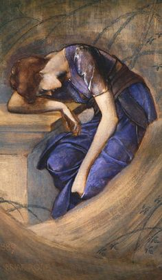 Study for the Briar Rose series