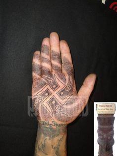 Hand Dotwork Geometric Tattoo by Prive Tattoo