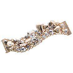 Razzmatazz - Gorgeous layered gold and silver bracelet