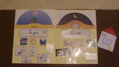 http://maternellealamaison.blogspot.fr/2011/11/distinguer-le-jour-et-la-nuit.html