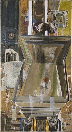 Georges Braque: The Billiard Table, c.1944.                                             Georges Braque              (French, Argenteuil 1882–1963 Paris)