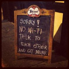 Best bar sign ever! Love it.