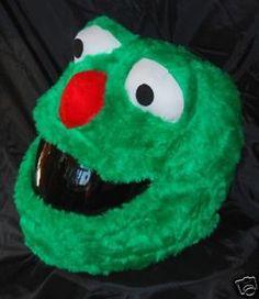 Elmo And Cookie Monster Sesame Street Motorcycle Helmet Covers