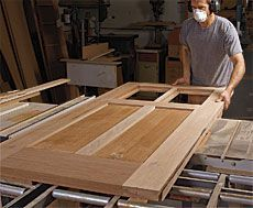 Ordinaire Preview   How To Build Your Own Front Door   Fine Woodworking Article  Woodworking Furniture,