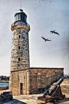 Lighthouse at Castillo del Morro - Havana, Cuba ....2011-04-18 flickr - Photo Sharing!