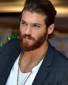Having a beard is almost always cool and manly. Learn How To Cleanly Trim Your Beard Like The Pros. Turkish Men, Turkish Actors, Beard Trimming Guide, Awesome Beards, Beard Care, Beard Styles, Moustache, Haircuts For Men, Bearded Men