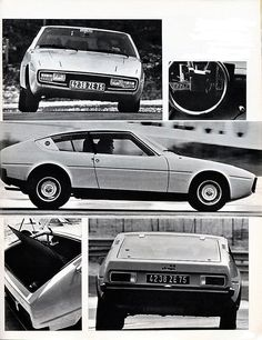 Matra Bagheera - Virage auto N°7 juillet 1973.