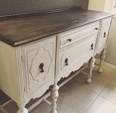 refinishing furniture Refinishing our buffet.step-by-step tutorial. Decor, Redo Furniture, Refurbished Furniture, Painted Furniture, Refinishing Furniture, Furniture Rehab, Furniture Makeover, Shabby Chic Furniture, Buffet Furniture