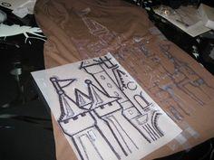 bleach pen design on a t shirt