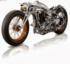 1939 Harley Flathead - Chicara Motorcycles - Goodhal Garage