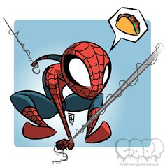 Spider-Man ...Tacos by IamOSI on deviantART