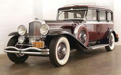 The 1934 Duesenberg SJ is one of only 36 supercharged examples