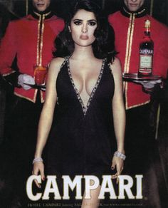 Salma Hayek for Campari, photography by Mario Testino, Selma Hayek, Mario Testino, Salma Hayek Body, Salma Hayek Pictures, Pin Up, Hot Dress, Gorgeous Women, Actresses, Celebrities