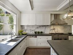 The 50 Best Tips to Get Your Home Super Organized | Jar, Storage and Dark Cabinets With Soapstone Countertops on dark cabinets with hardware, dark marble countertops, dark grey countertops, dark granite countertops, dark cabinets with quartz, dark floors light cabinets dark countertops, dark color laminate countertops, dark cabinets black countertop, dark cabinets with backsplashes,