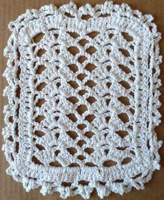 #237 Lacy Shells Crochet Dishcloth – Maggie Weldon Maggies Crochet ~ free pattern
