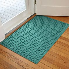 "Bungalow Flooring Aqua Shield Dog Treats Doormat Color: Medium Brown, Rug Size: 18""W x 28""L"