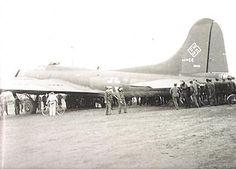 B25 in Luftwaffe markings