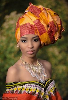 Fashion Headwrap ~Latest African Fashion, African women dresses, African Prints…