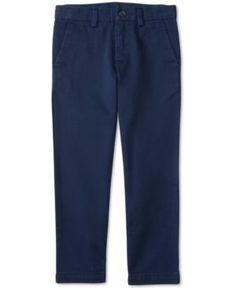 Ralph Lauren Little Boys' Slim-Fit Chino Pants - French Navy 6
