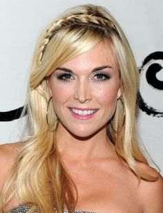 Top 10 Party Hairstyles - Tinsley Mortimer's headband braid is the perfect mix of bohemian sophistication and works for hairstyles with or without bangs