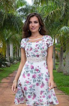 600243 - Vestido Isabelly - Floratta Modas